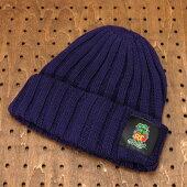 ラットフィンク(RATFINK)ワッチ(ウォッチ)キャップ(帽子)ニット帽パープル1