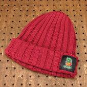 ラットフィンク(RATFINK)ワッチ(ウォッチ)キャップ(帽子)ニット帽レッド1