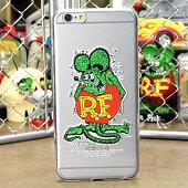 ラットフィンクiPhone6Plus専用ケース(カバー、ジャケット)RATFINKスタンドクリア