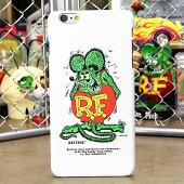 ラットフィンクiPhone6Plus専用ケース(カバー、ジャケット)RATFINKスタンドホワイト