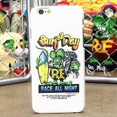 ラットフィンクiPhone6専用ケース(カバー、ジャケット)RATFINKSURFALLDAY