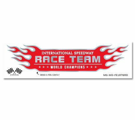 外装・エアロパーツ, ステッカー・デカール  FLAME EMBLEM RACE TEAM OKSC-FE1976RD-AHD