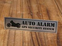 ステッカーセキュリティー(防犯)バイク用アメリカンバイクA