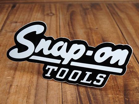 ステッカー スナップオン(Snap-on) Snap-on TOOLS カーステッカー 【メール便OK】_SC-SN001-FNM