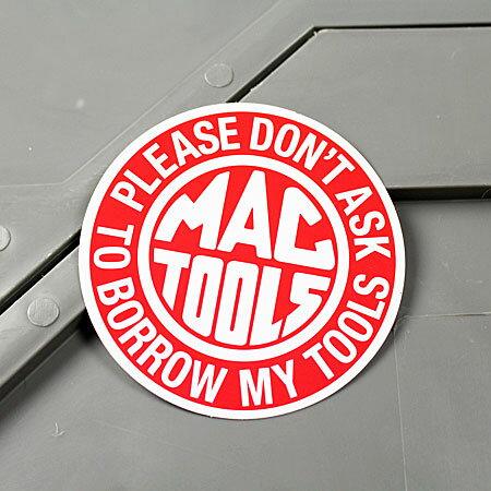 ステッカー マックツールズ MAC TOOLS バイク 車 アメリカン かっこいい カーステッカー 工具 ツール 【メール便OK】_SC-MS060-FEE