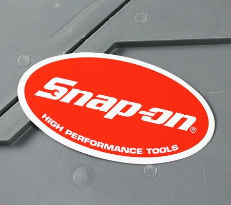 スナップオン ステッカー 車 かっこいい ツールボックス アメリカ カーステッカー Snap-on HIGH PERFORMANCE TOOLS サイズS 【メール便OK】_SC-SN029-FNM