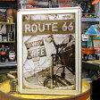 サインプレート アンティーク 看板 サインボード ルート66 ガレージ ROUTE66 Hi-Way CAFE サイズM アメリカ アメリカン雑貨_SP-Z5348-FEE
