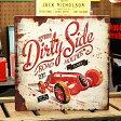 サインプレート アンティーク 看板 サインボード アメ車 ホットロッド ガレージ レースカー Dirty Side アメリカ アメリカン雑貨_SP-EM14006-FEE