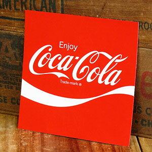 コカコーラ ステッカー グッズ 車 アメリカン おしゃれ バイク ヘルメット かっこいい カーステッカー Enjoy Coca Cola 【メール便OK】_SC-CCBA16-LFS
