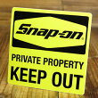 ���ʥåץ����Snap-on�˥��ƥå���/KEEPOUT