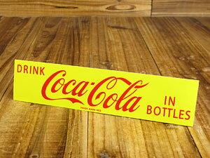 コカコーラ ステッカー グッズ 車 アメリカン おしゃれ バイク ヘルメット かっこいい カーステッカー Coca Cola IN BOTTLES 【メール便OK】_SC-CCBS2-LFS