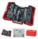 SK35620P KTC 赤 9.5sq 56点組 工具セット(両開きプラハード...
