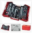 SK45220P KTC 赤 12.7sq 52点組 工具セット(両開きプラハー...