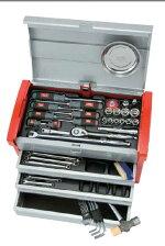 【送料無料】KTCSK4580E工具セット(チェストタイプ)59点【工具セット】