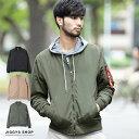 ◆ポリピーチ中綿 MA-1◆ボンバージャケット MA1 エムエーワン メンズ フライトジャケット ミ...
