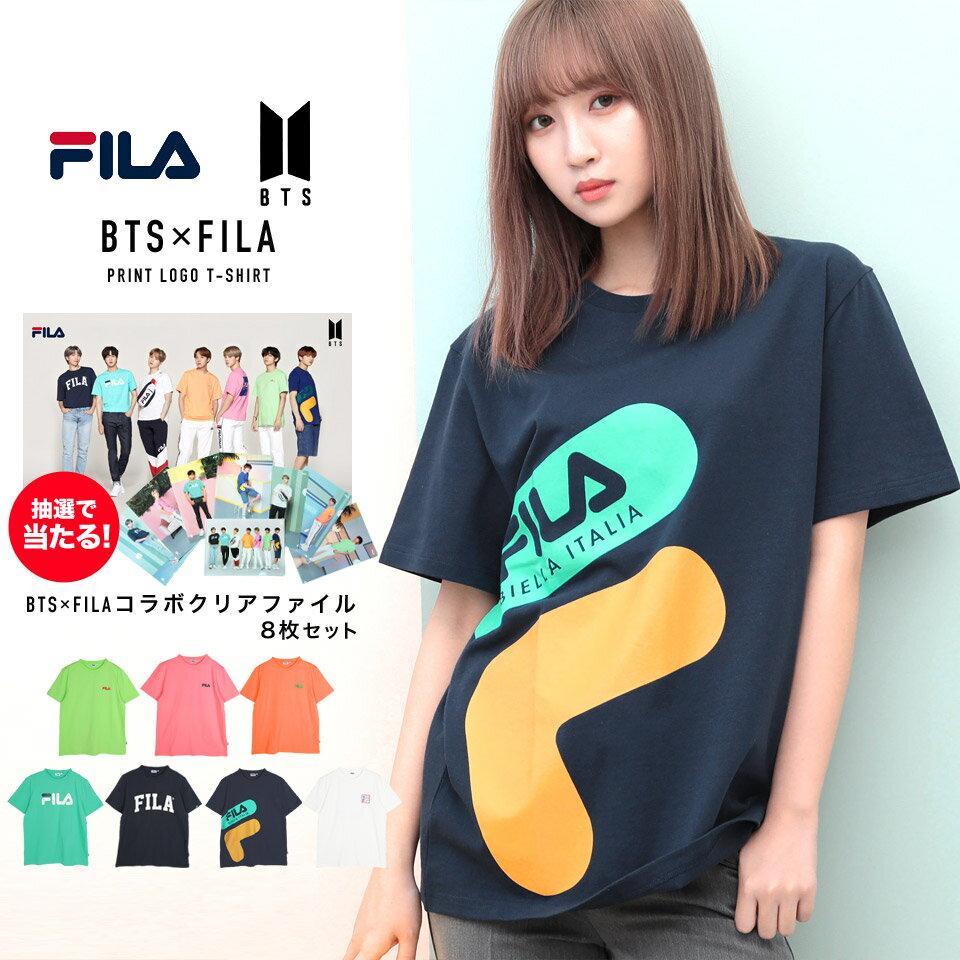トップス, Tシャツ・カットソー FILA BTS t FILA()BTS() T T