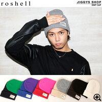 ◆roshell(ロシェル)テレコカラーニット帽◆お兄系Men'sニット帽メンズお兄系ニット帽帽子お兄系ファッションお兄レディース%OFFメンズファッションたけぞー