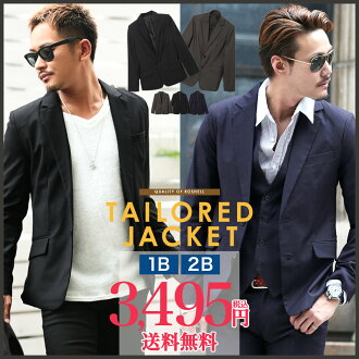 ◆roshell 1B tailored jacket◆tailored/men's jacket/outerwear/casual/men's outer/men's fashion/Japanese fashion/coat/black/navy/fall fashion