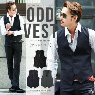 ◆ Rochelle odd vest◆ vest/ tan top/ men's vest/ spring summer/ cool fashion/ men fashion/ gentleman style/ setup of Men's best/ formal style/ men's clothes