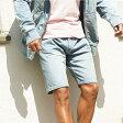 スウェットデニム◆roshell(ロシェル) スウェットデニムショートパンツ◆スウェットパンツ ジーンズ ハーフパンツ デニムパンツ メンズ ボトムス メンズファッション ストレッチ セットアップも 夏服 ショートパンツ