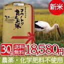 新米 無農薬 無化学肥料 米 生命を育むお米コウノトリ育むお...