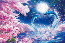 クリスタルパネル ブルー【3】(サイズ:26.0cm×38.0cm) エポック社