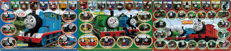 APO-24-125 きかんしゃトーマス カラフルななかまたち 10+15+20ピース パノラマパズル パズル Puzzle 子供用 幼児 知育玩具 知育パズル 知育 ギフト 誕生日 プレゼント 誕生日プレゼント画像