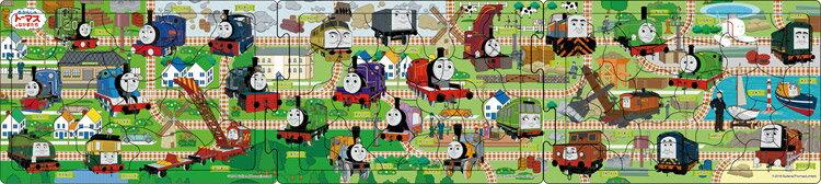 APO-24-126 きかんしゃトーマス せんろをつなげて3 18+24+32ピース パノラマパズル パズル Puzzle 子供用 幼児 知育玩具 知育パズル 知育 ギフト 誕生日 プレゼント 誕生日プレゼント画像