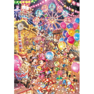 TEN-D108-783 Disney Twilight Park (Mickey Minnie) 108-teiliges Puzzle
