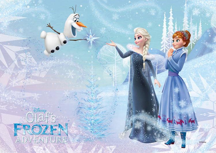 スヴェンアナと雪の女王ディズニー公式