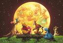 TEN-DSG266-733 ディズニー ムーンライトパーティー(くまのプーさん) 266ピース ステンドアートジグソーパズル [CP-D]