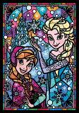 TEN-DSG266-753 ディズニー アナ&エルサ ステンドグラス(アナと雪の女王) 266ピース ステンドアートジグソーパズル
