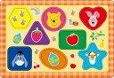 TEN-DC08-132 ディズニー プーさん だいすき(くまのプーさん) 8ピース チャイルドパズル パズル Puzzle 子供用 幼児 知育玩具 知育パズル 知育 ギフト 誕生日 プレゼント 誕生日プレゼント