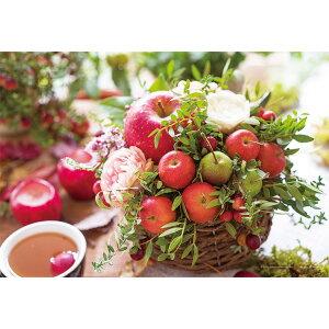 YAM-01-2079 フラワー 花とりんご 108ラージピース ジグソーパズル パズル Puzzle ギフト 誕生日 プレゼント