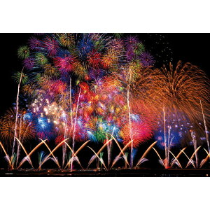 BEV-83-087 Landscape Nagaoka Fireworks 300 Piece Jigsaw Puzzle Puzzle Gift Birthday Gift