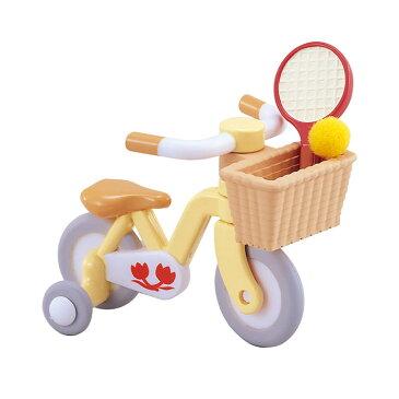 カ-306 シルバニアファミリー 自転車(こども用) おもちゃ [CP-SF] 誕生日 プレゼント 子供 女の子 3歳 4歳 5歳 6歳 ギフト お人形 シルバニア