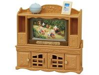 カ-522シルバニアファミリーテレビ・テレビ台セットの画像