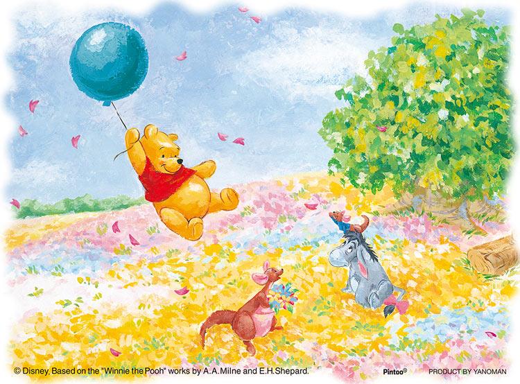 YAM-2301-10 ディズニー 風に乗って (くまのプーさん) 150ピース ジグソーパズル パズル Puzzle ギフト 誕生日 プレゼント画像
