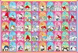 BEV-80-021子供用パズルサンリオキャラクターズあいうえおおぼえちゃおう!80ピース●予約ジグソーパズルパズルPuzzleギフト誕生日プレゼント
