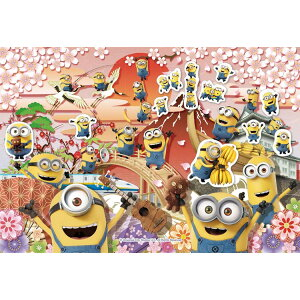 EPO-28-801s Minions Minions in Japan 300 Piece Jigsaw Puzzle Puzzle Gift Birthday Gift