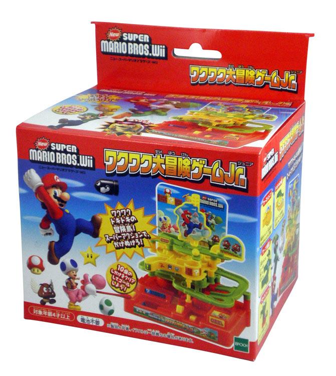 EPT-76104 NewスーパーマリオブラザーズWii ワクワク大冒険ゲームJr. おもちゃ 誕生日 プレゼント 子供 女の子 男の子 ギフト画像