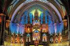 YAM-10-1377 風景 煌めきの聖堂 (モントリオール・ノートルダム大聖堂) 1000ピース ジグソーパズル パズル Puzzle ギフト 誕生日 プレゼント