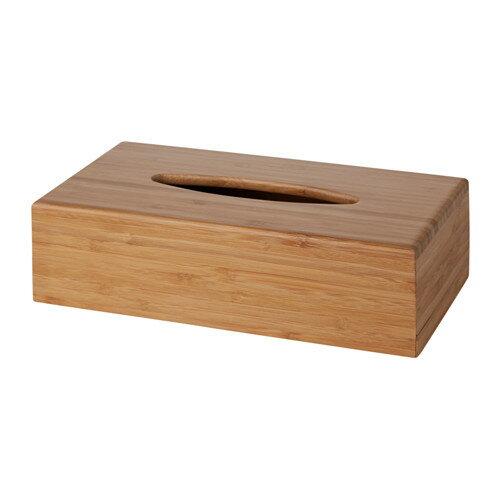 IKEA(イケア)BONDLIANティッシュボックス 竹 天然素材 バスルームアクセサリー 洗面用品