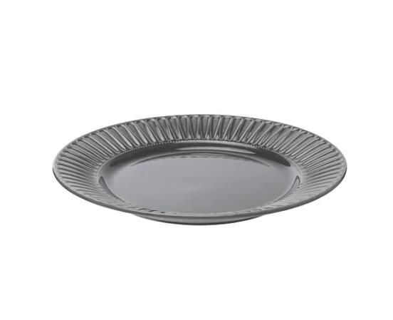 【人気商品】IKEA(イケア)STRIMMIG ストリミグプレート せっ器 グレーおもてなし パーティー クリスマス イベント お正月 和食器 洋食器