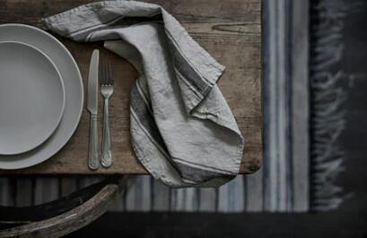 【人気商品】IKEA(イケア)VARDAGEN ヴァルダーゲンキッチンクロス ベージュ天然素材の麻(リネン)を100%使用吸水性◎ レビュー★★★★★