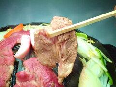 ジュワッとジューシーな極上お肉♪「あんべのこだわり生ラムカタロース肉」1kgパック(秘伝のタ...