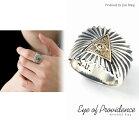 送料無料ヴィンテージプロビデンスの目フリーメイソンデザインリングプロビデンスアイシルバーリングシルバー925真鍮リング指輪メンズレディースアクセサリーブランドGOODVIBRATIONS