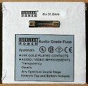 A.G.FUSE6X31.8/10A アイソクリーンパワー 高音質ヒューズ(1本)6x31.8mm、10.0A