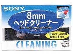 V8-25CLD ソニー Hi8/デジタル8/8ミリビデオ用 へッドクリーニングカセット SONY