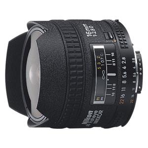 AI-AF16/F2.8D ニコン Ai AF Fisheye-Nikkor 16mm f/2.8D ※FXフォーマット用レンズ(36mm×24mm)